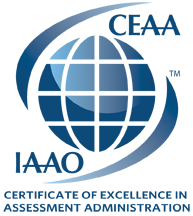 Certificate of excellence designation logo